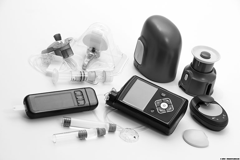 Technology used to monitor diabetes