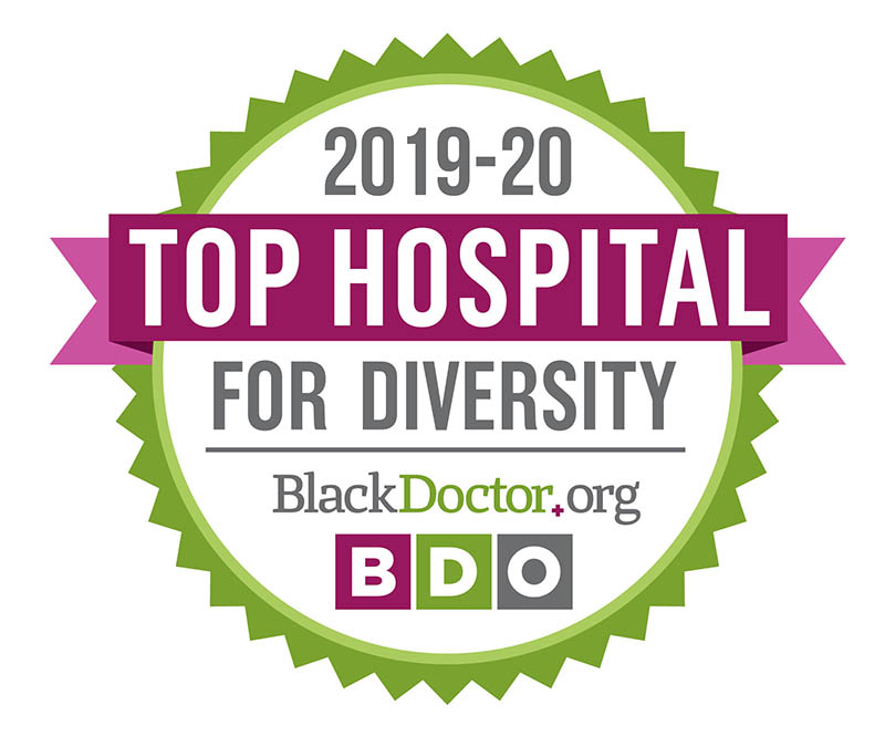 2018 Top Hospital for Diversity