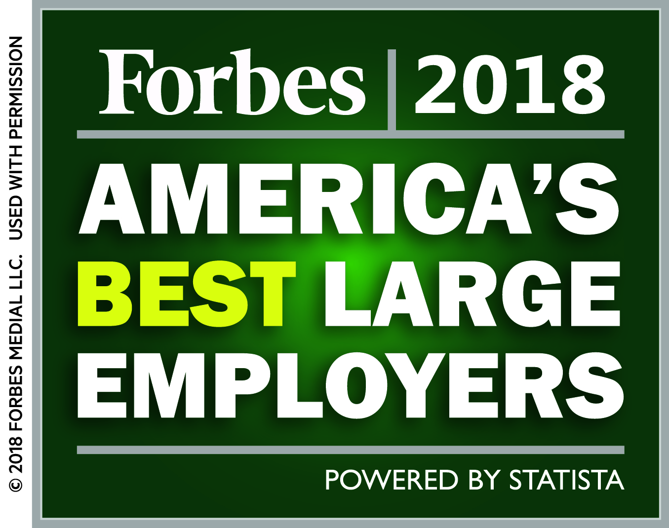 Forbes Best Employer Badge
