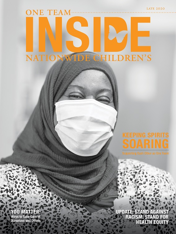 Inside Nationwide Children's Fall 2020 Cover