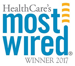 Most Wired Hospital logo