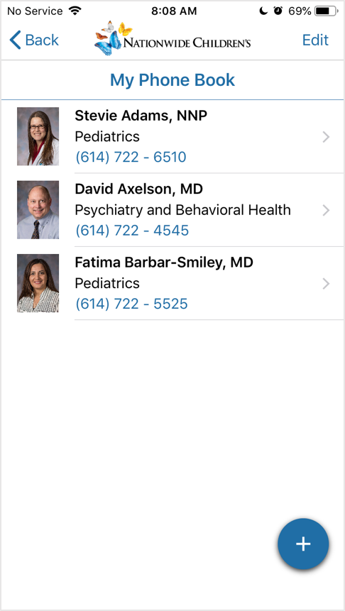 Physician Connect Mobile Application