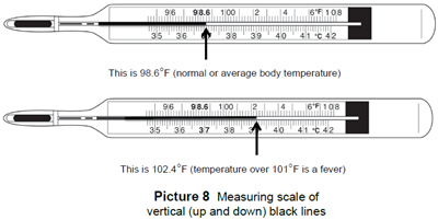 Temperature: Digital and Glass Thermometers