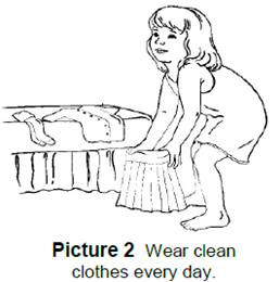 Wear Clean Clothes