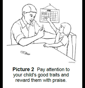 reward your child with ADHD with praise