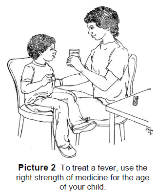 treating a fever