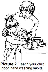 Insegna al tuo bambino le buone abitudini di lavaggio delle mani