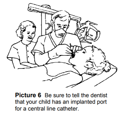 Implanted Port - Care at Home