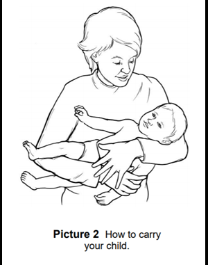 carrying your child
