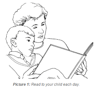 Read to your child each day