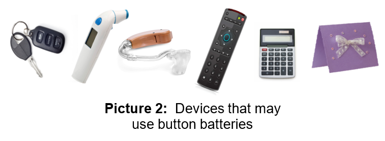 Items With Button Batteries