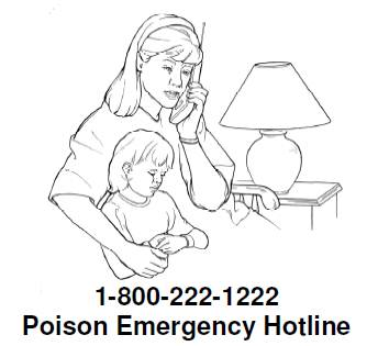 Poison emergency hotline