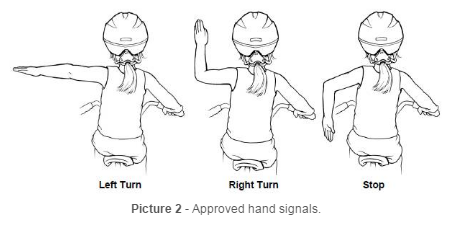 Approved Hand Signals