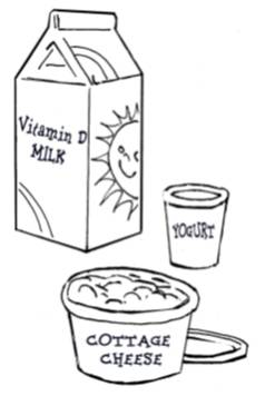 cottage cheese and vitamin d milk