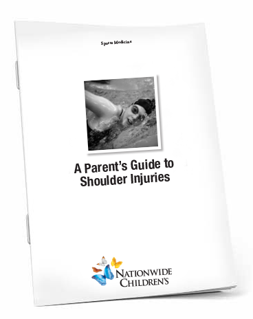 A Parent's Guide to Shoulder Injuries Booklet