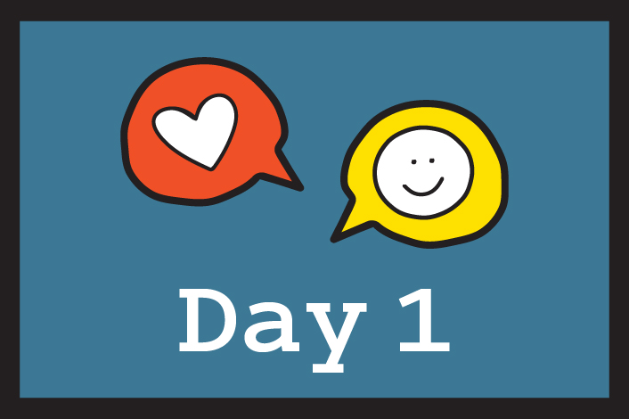 Kindness Challenge Day 1