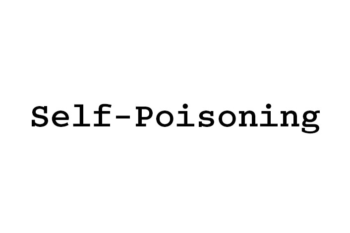 Self-poisoning
