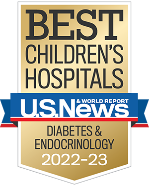 US News Badge Diabetes and Endocrinology
