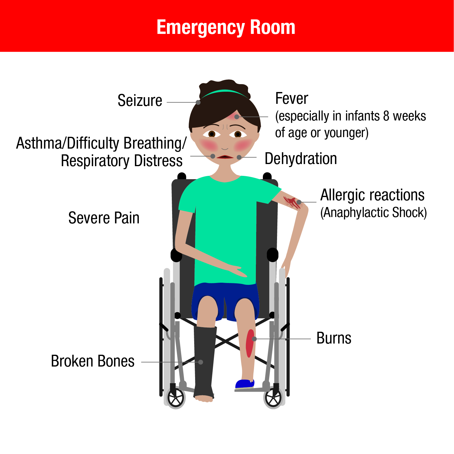 Emergency Room infographic