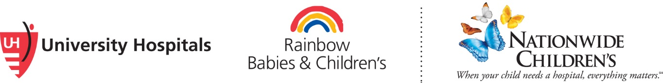 University Hospitals Rainbow Babies & Childrens and