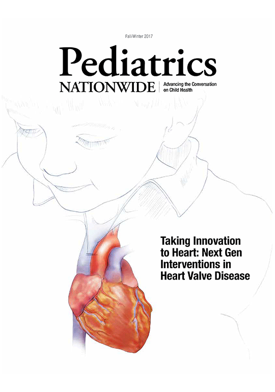 Pediatrics Nationwide Fall 2017 Cover