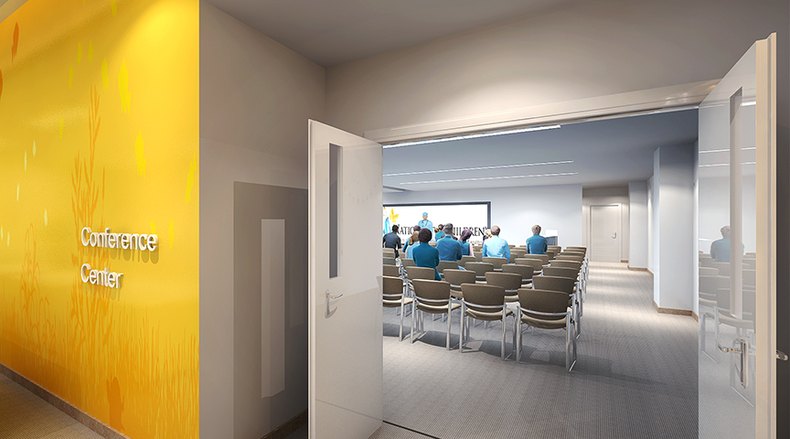 Big Lots Behavioral Health Pavilion Conference Center Rendering