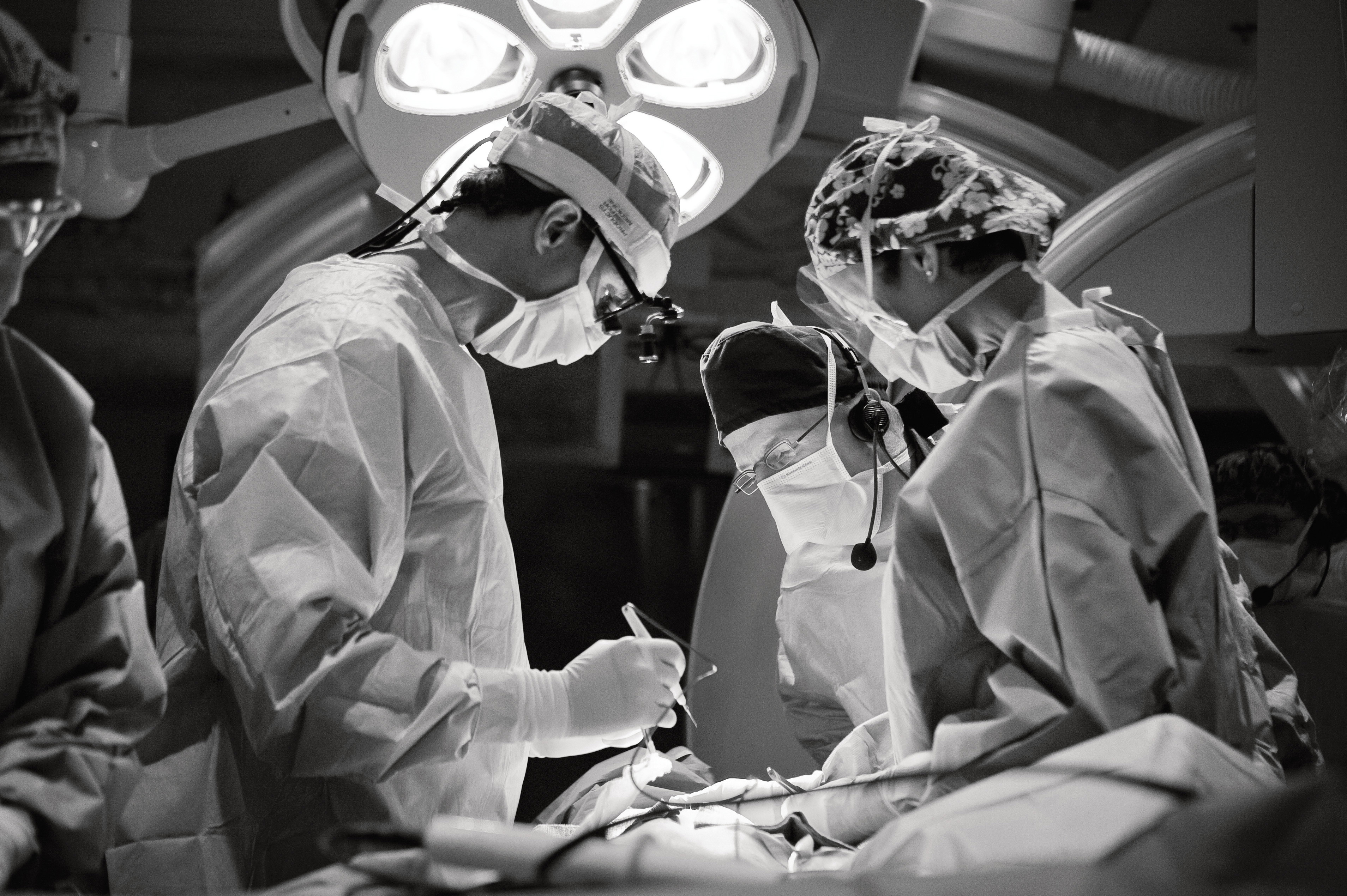 Heart Surgeons in Operating Room