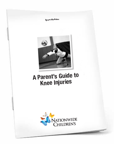 A Parent's Guide to Knee Injuries Booklet